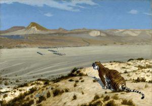 Жером Жан-Леон Tiger on the Watch