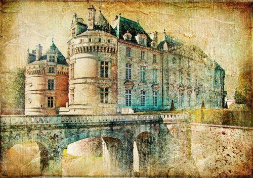 Старый средневековый замок