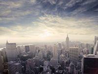 Захід сонця у Манхеттені