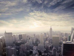 Закат в Манхэттене