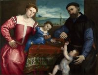 Портрет Джованни делла Вольта с женой и детьми