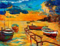 Лодки в море 2