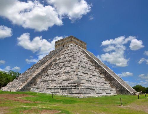 Чичен-Ица Пирамида, чудо света, Мексика