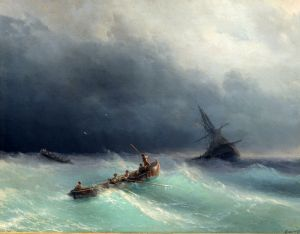 Айвазовский Иван Буря на море