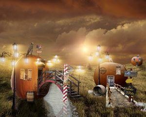 Тыквенный поселок
