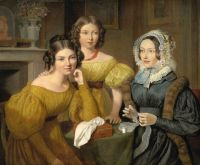 Мадам Виейрес с дочерьми