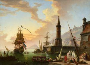 Ориентализм Морской порт
