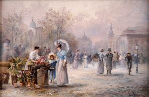 Барбарини Эмиль Цветочный рынок
