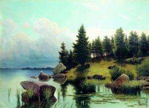 Мещерский Арсений У лесного озера