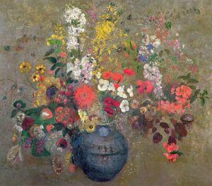 Редон Одилон Букет цветов в вазе 2