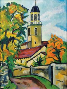Постимпрессионизм Церковь в Роне