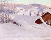 Зимний день в Сакстярне