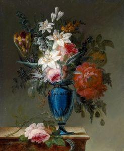 Лауэр Йозеф Натюрморт с розами
