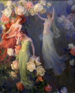 Духи роз