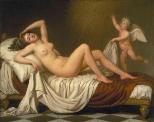 Лагрене Луи Жан-Франсуа  Даная и золотой дождь