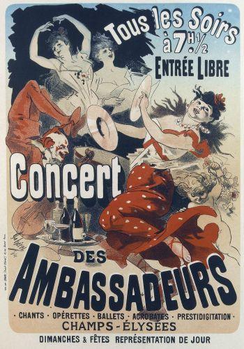 Concert des Ambassadeurs from les Maitres de l Affichе