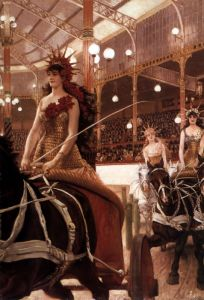 Тиссо Джеймс Женщины на колесницах
