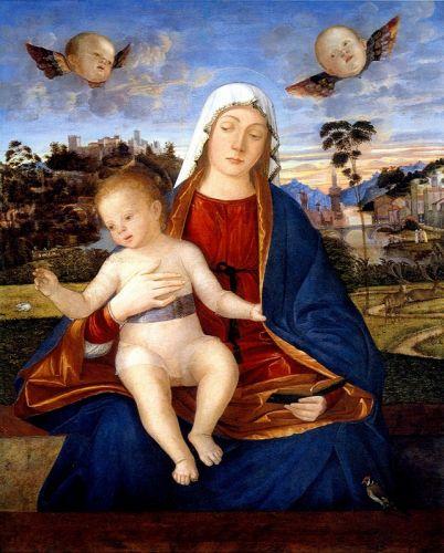 Карпаччо Мадонна с младенцем - изображение 1
