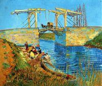 Стирка у моста Ланглуа в городе Арль