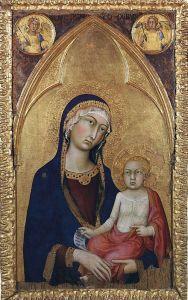 Готика Мадонна з немовлям