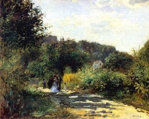 Дорога в Лувесьенне