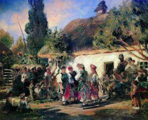 Маковский Константин Праздник на Украине