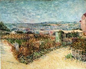 Ван Гог Винсент Овощные сады в Монмартре