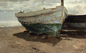 Соролья Хоакин Лодки на пляже