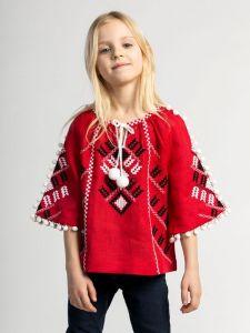 Вышиванки детские Вышиванка для девочки Red Spike