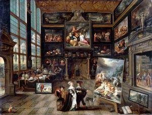 Баллье де Корнелис Старший Интерьер картинной галереи
