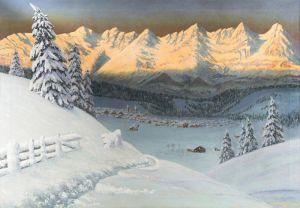 Вещилов Константин Зимний пейзаж