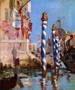Мане Эдуард Гранд-канал в Венеции