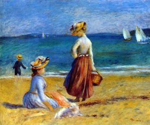 Фигуры на пляже