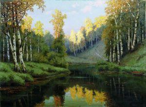 Волков Ефим Лесное озеро