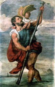 Вечеллио Тициан Святой Христофор