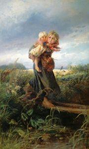 Маковский Константин Дети, бегущие от грозы