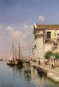 Дель Кампо Федерико Венецианский канал