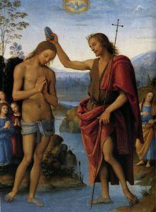 Перуджино Пьетро Крещение Христа