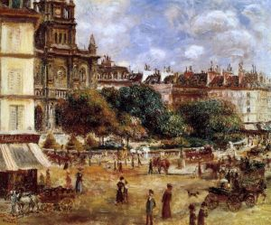 Ренуар Огюст Площа Трініта в Парижі