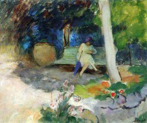 Лебаск Анри В саду