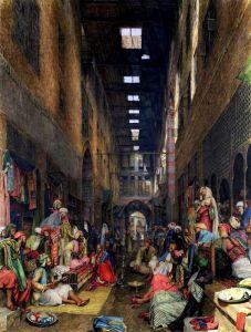 Льюис Джон Фредерик Рынок в Каире