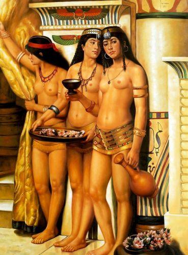 Служанки фараона