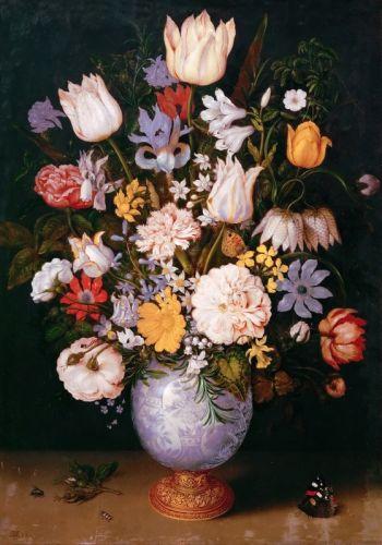 Натюрморт с цветами - изображение 1