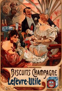 Муха Альфонс Biscuits Champagne Lefevree