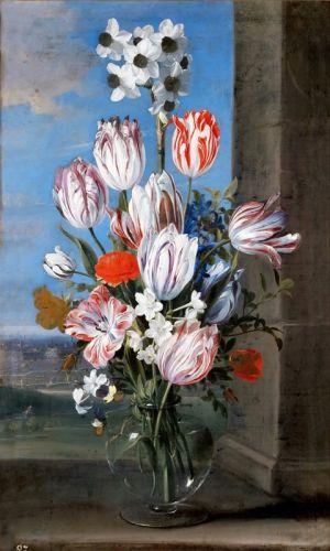 Натюрморт с тюльпанами - изображение 1