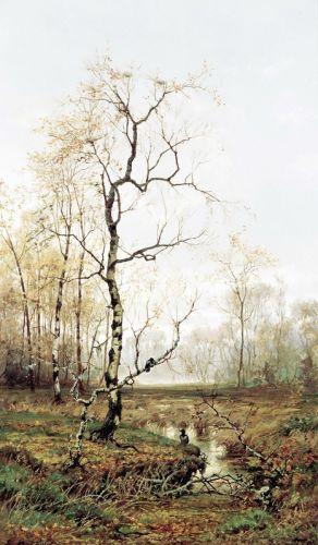 В лесу по весне