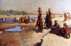Уикс Эдвин Лорд Женщины носят воду из Ганга, Индия