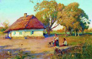 Українське мистецтво Полтавщина. Тихий вечір