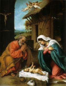 Лотто Лоренцо Рождество Христово
