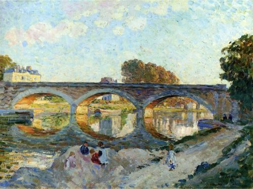 Пон Пьер на реке Ланьи
